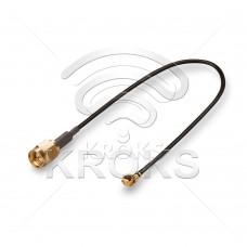 Пигтейл (кабельная сборка) U.Fl - SMA (male)