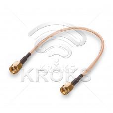 Пигтейл (кабельная сборка) SMA(male)-SMA(male)