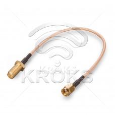 Пигтейл (кабельная сборка) SMA (male) - SMA (female)