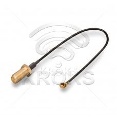 Пигтейл (кабельная сборка) SMA (female) - U.Fl-RP