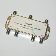 Делитель спутниковый GS 02-06