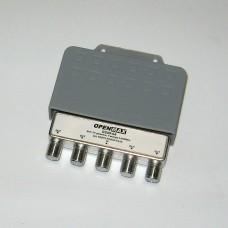 Спутниковый делитель GS09-04 водозащищенный, 4 вых