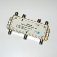 DiSEqC переключатель  GD-61A  6х1