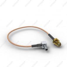 Пигтейл (кабельная сборка) CRC9-L - SMA(female)